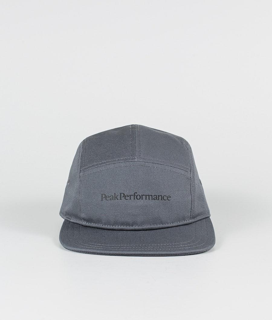 Peak Performance 5 Panel Cap Keps Deep Earth