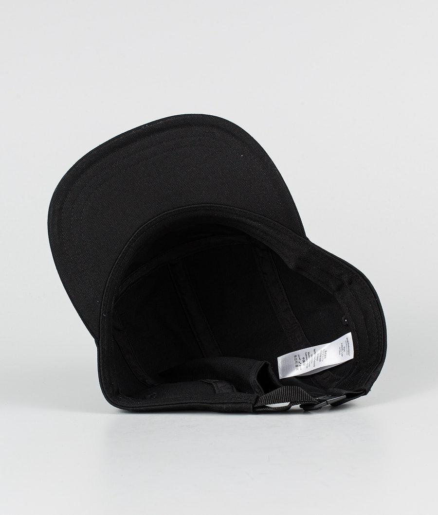 Peak Performance 5 Panel Cap Keps Black