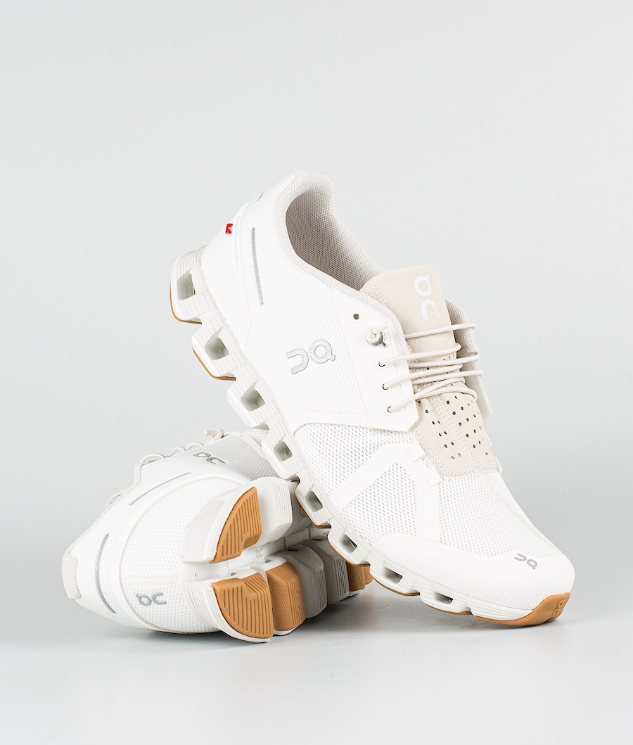 On Shoes Cloud Schoenen White/Sand