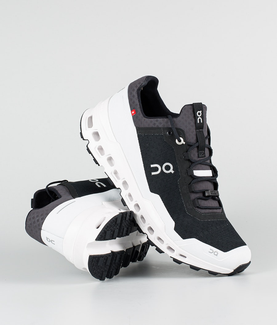 On Shoes Cloudultra Schoenen Black/White