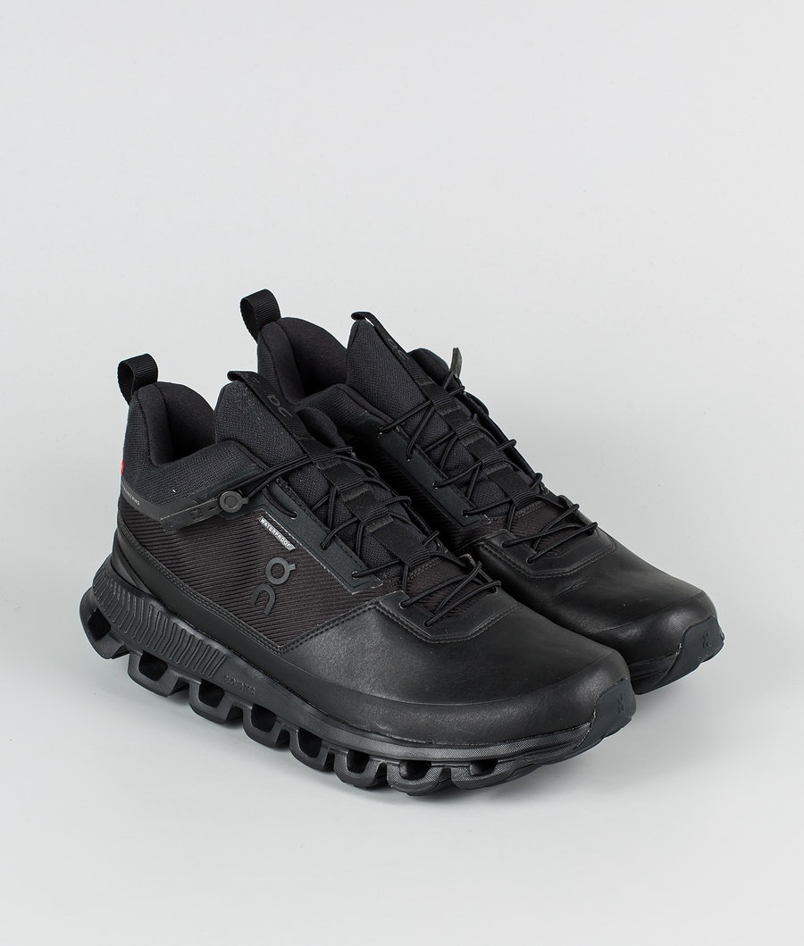 On Shoes Cloud Hi Waterproof Schoenen All Black