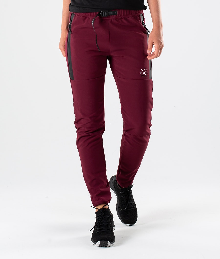 Dope Rambler 19 W Outdoor Trousers Burgundy