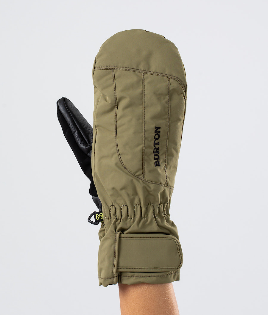 Burton Profile Under Mitt Ski Gloves Martini Olive