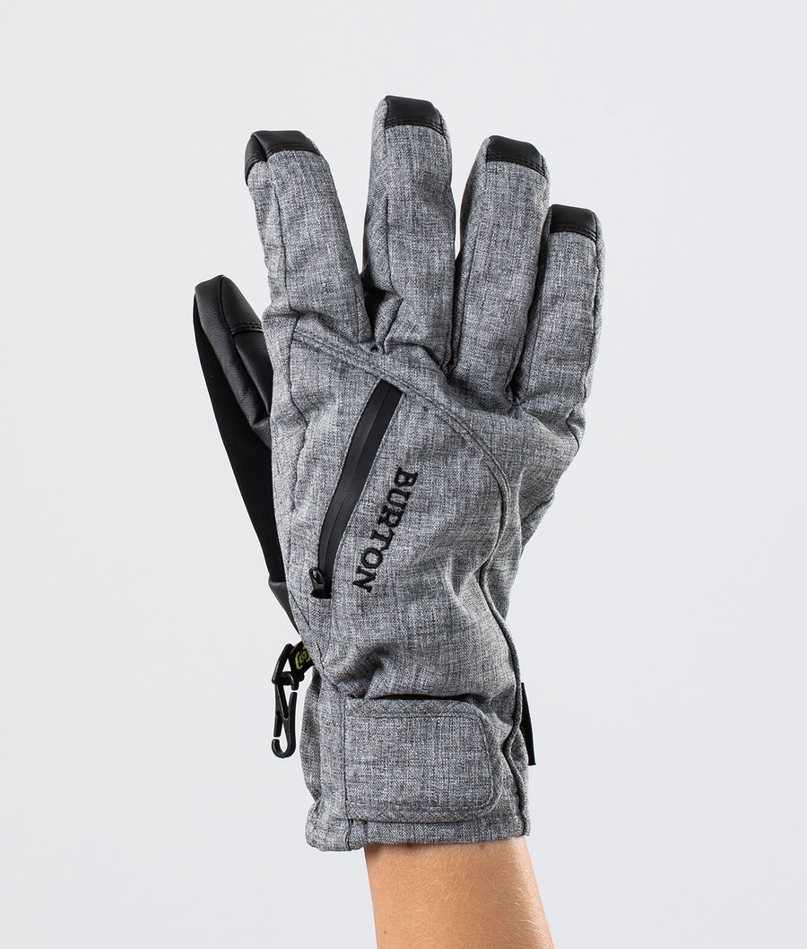 Burton Baker 2 In 1 Under Glove Ski Gloves Bog Heather
