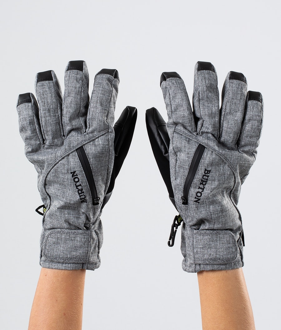 Burton Baker 2 In 1 Under Glove Women's Ski Gloves Bog Heather