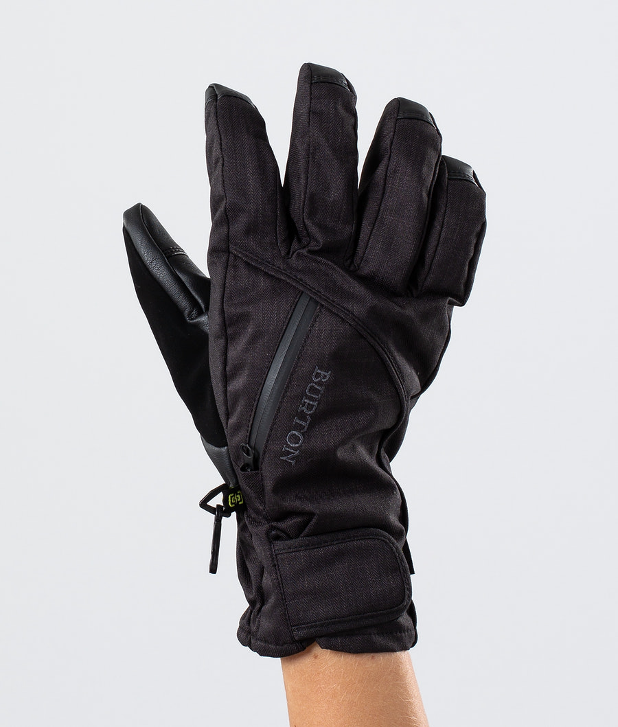 Burton Baker 2 In 1 Under Glove Ski Gloves True Black