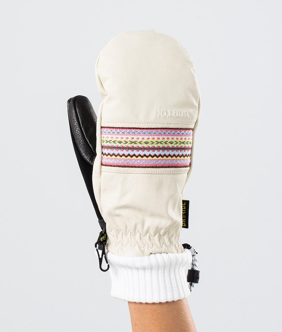Burton Free Range Mtt Ski Gloves Stout White
