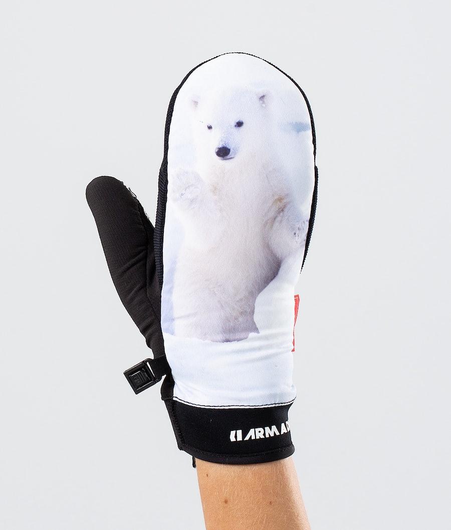 Armada Carmel Ski Gloves Polar Cub
