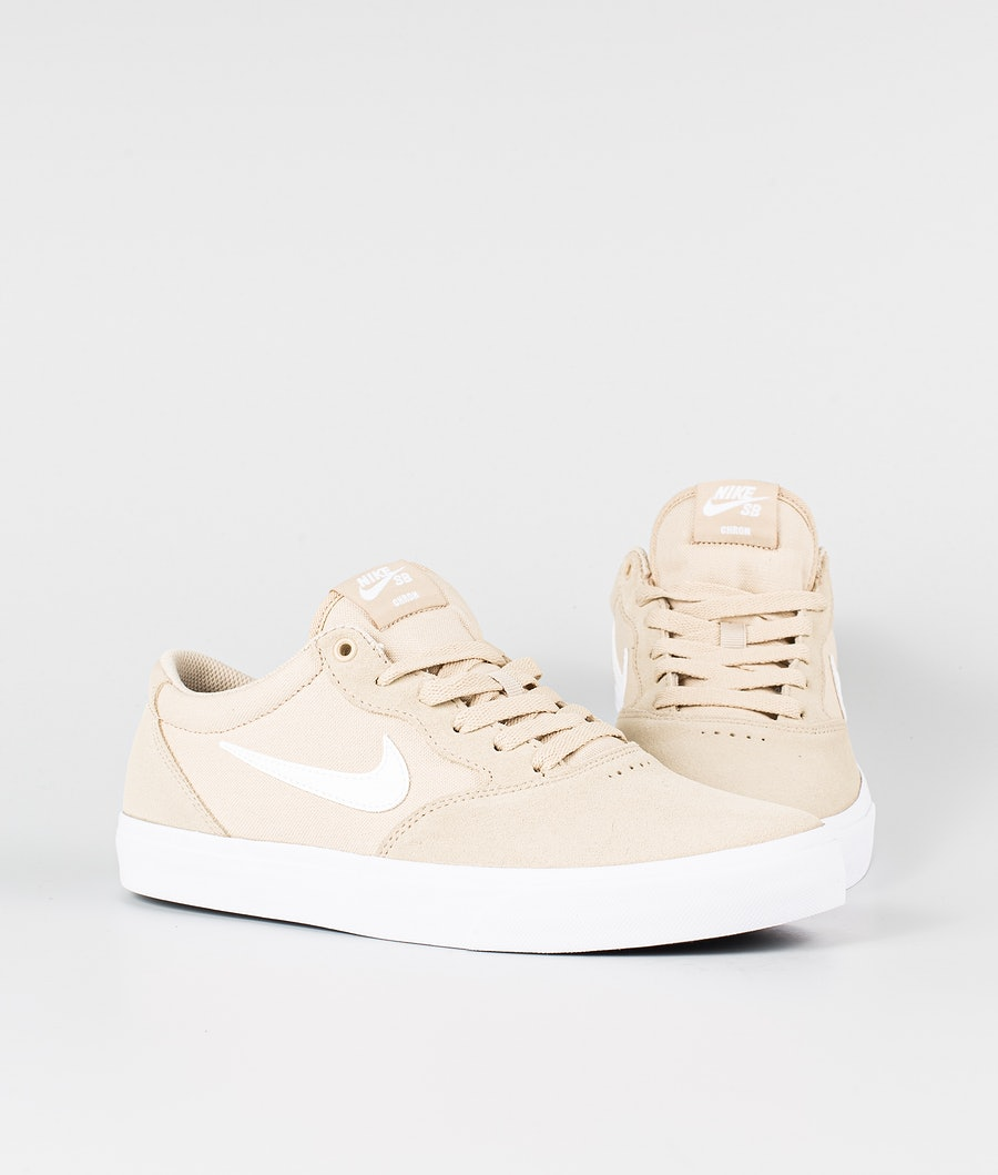 Nike SB Chron Solarsoft Chaussures Grain/White-Grain-White