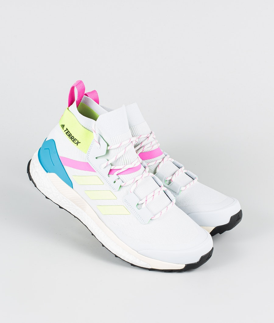 Adidas Terrex Free Hiker Primeblue Schoenen Halo Blue/Hi-Res Yellow/Scream Pink