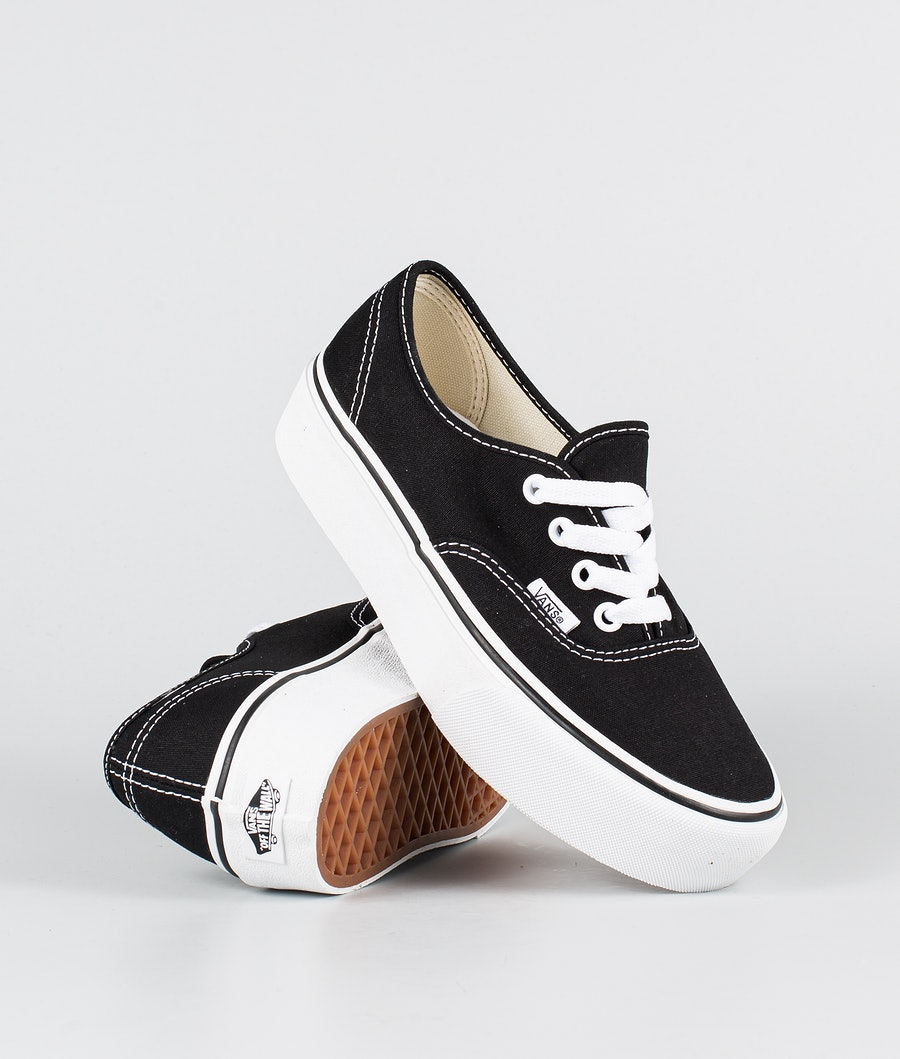 Vans Ua Authentic Platform 2.0 Skor Black