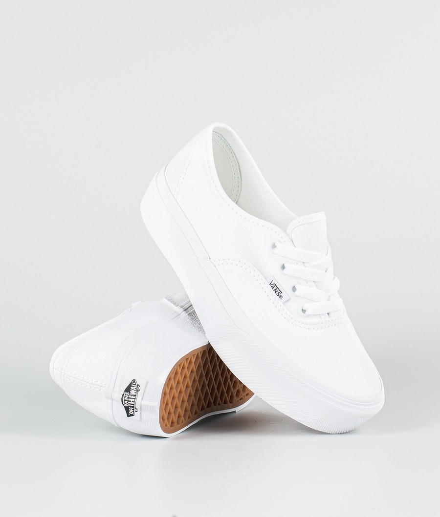 Vans Ua Authentic Platform 2.0 Shoes True White
