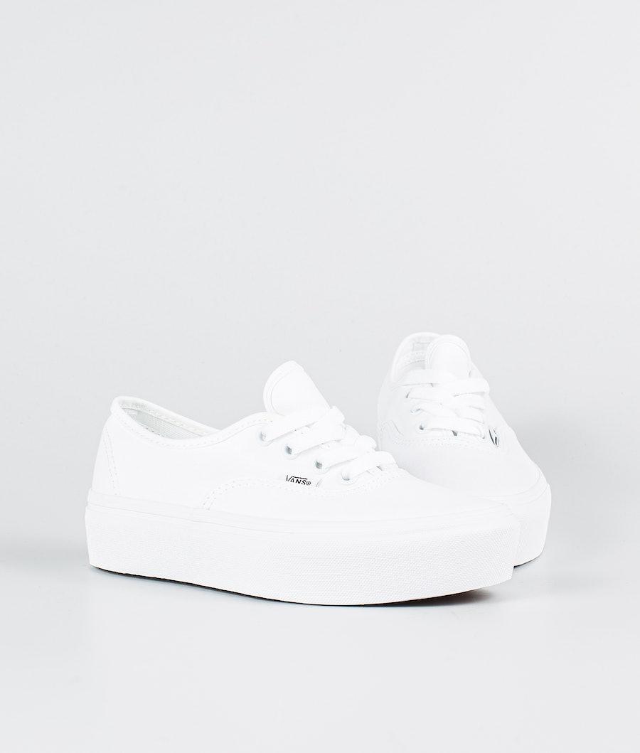 Vans Ua Authentic Platform 2.0 Schuhe Damen True White