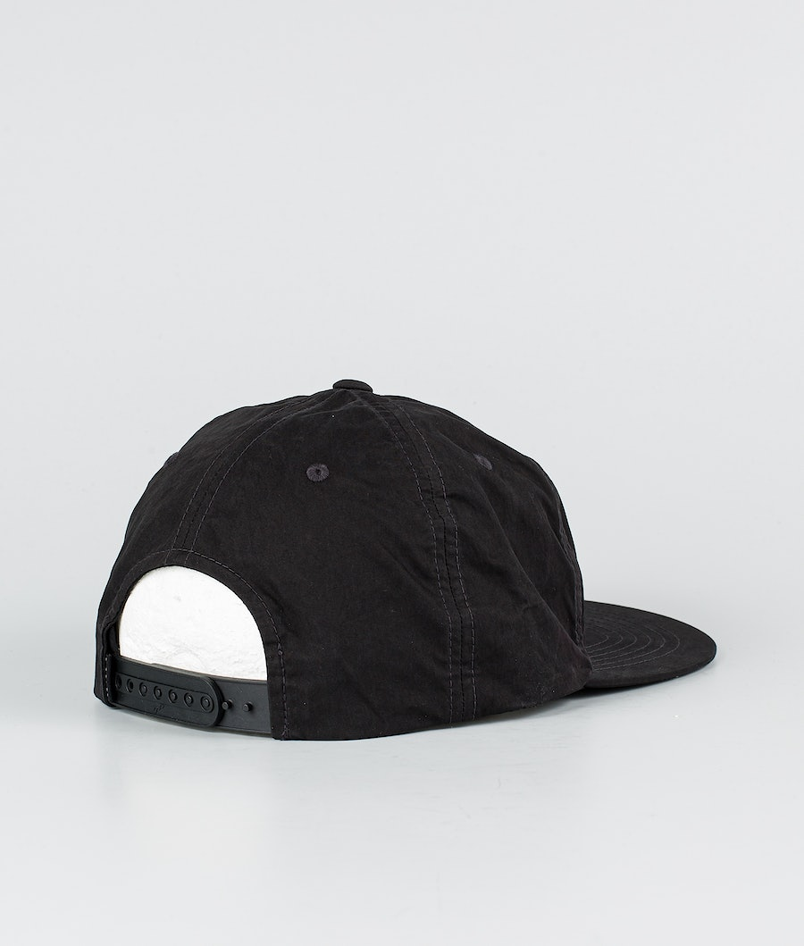 Rip Curl Fade Out Sun Snapback Keps Washed Black