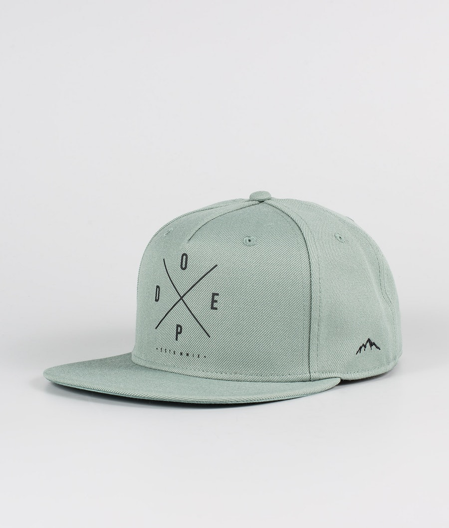 Dope 2X-UP Casquette Faded Green