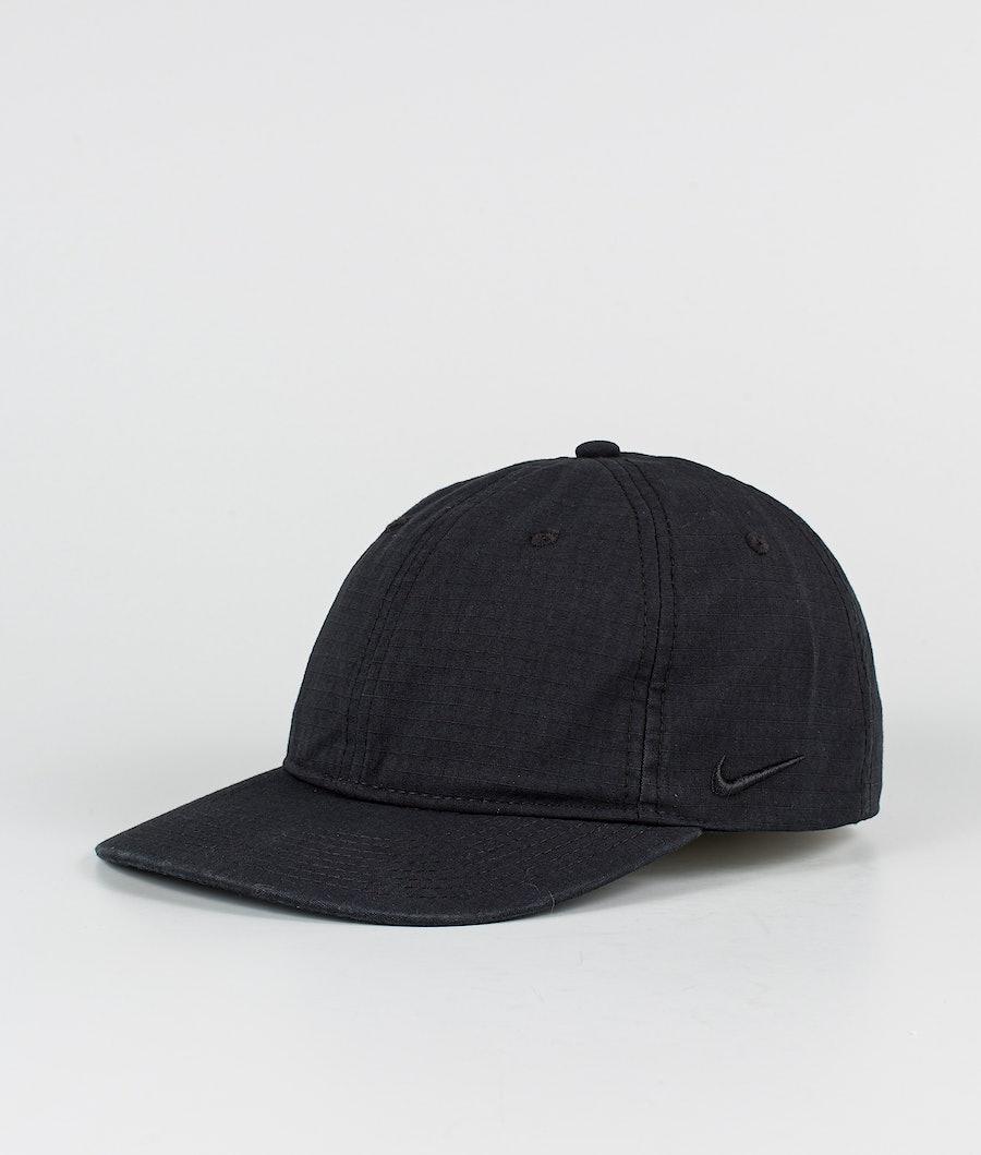 Nike Heritage86 Flatbill Keps Black/Black