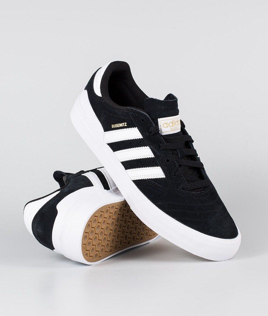 Adidas Skateboarding Busenitz Vulc II    Shoes Core Black/Footwear White/Gum4