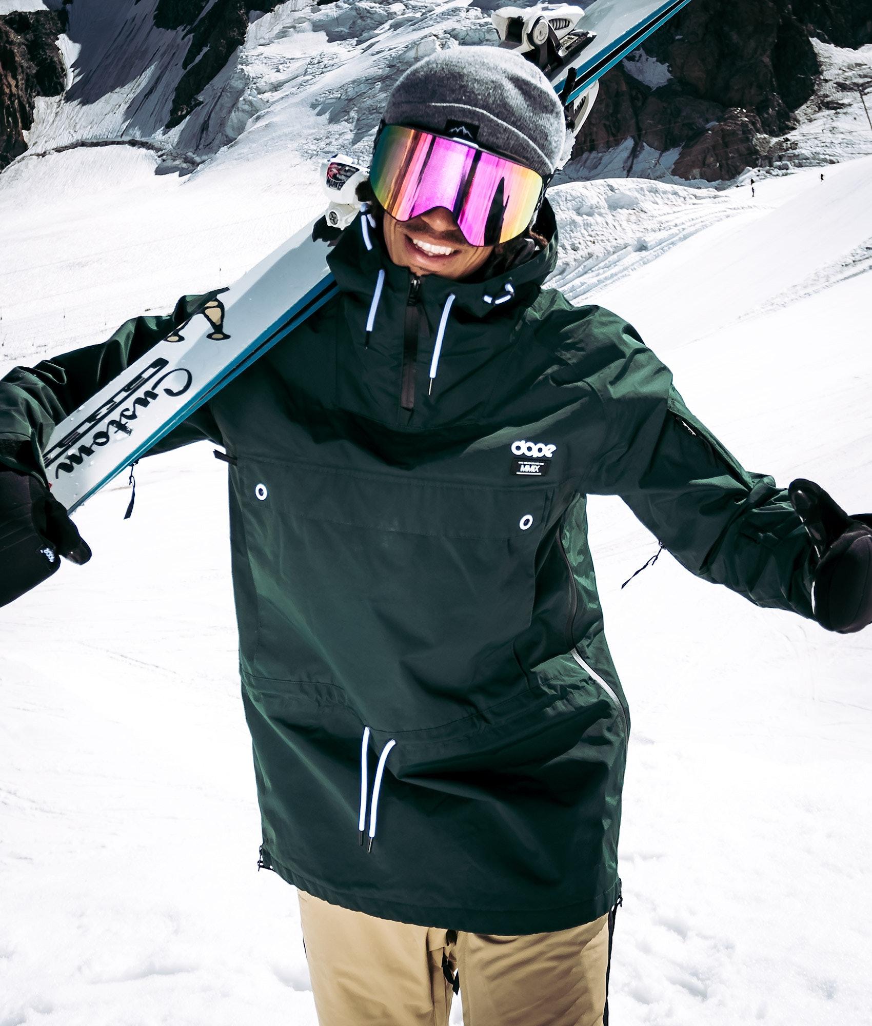 elegant and sturdy package arriving provide plenty of Dope Annok 18 Ski Jacket Green