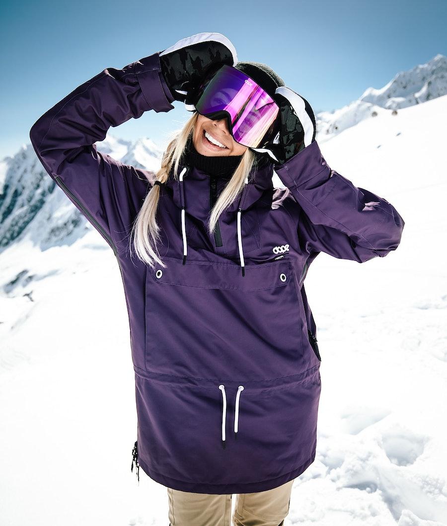 Dope Annok W Snowboardjacke Damen Grape
