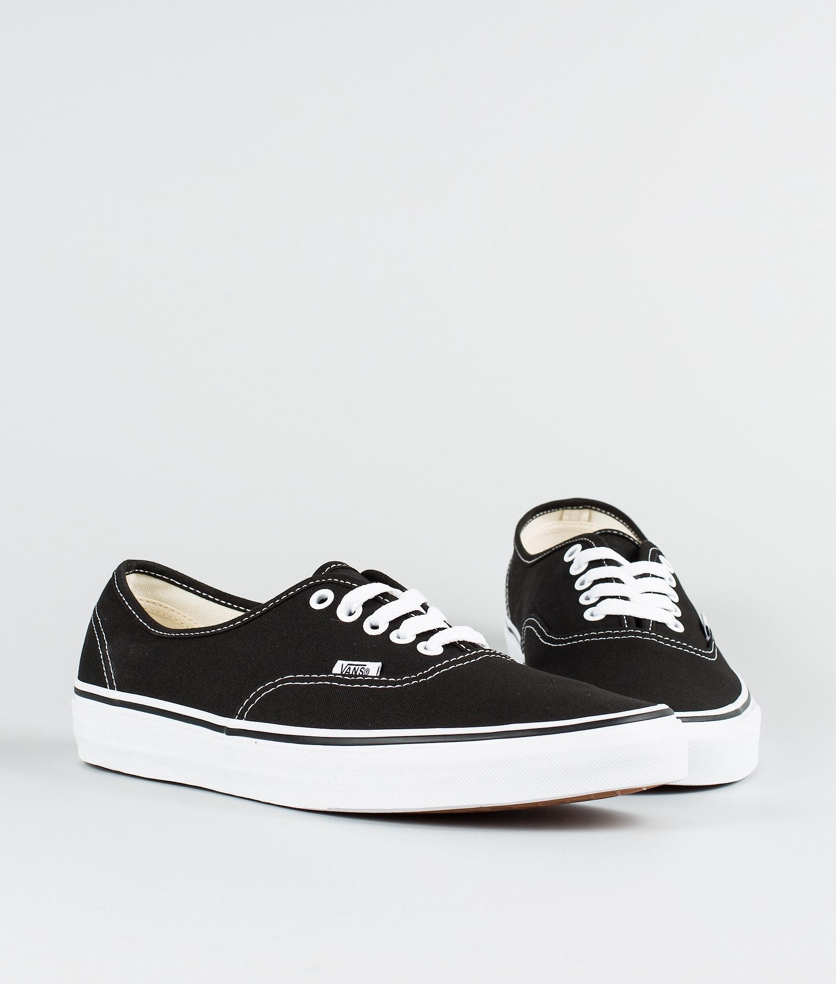 a0aca84b92f6ce Vans Authentic Schuhe Black - Ridestore.de