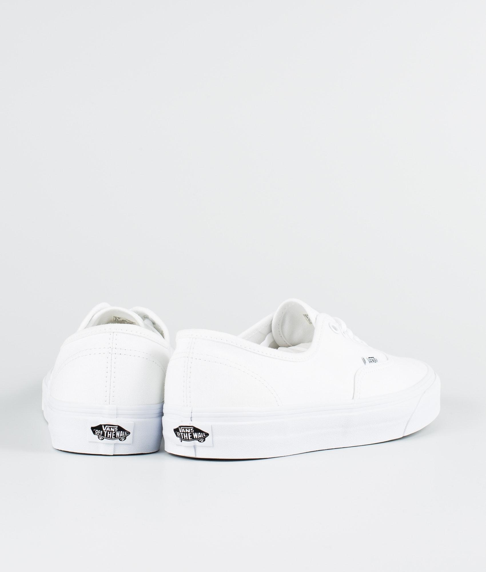 ca9081ba838 Vans Authentic Shoes True White - Ridestore.com