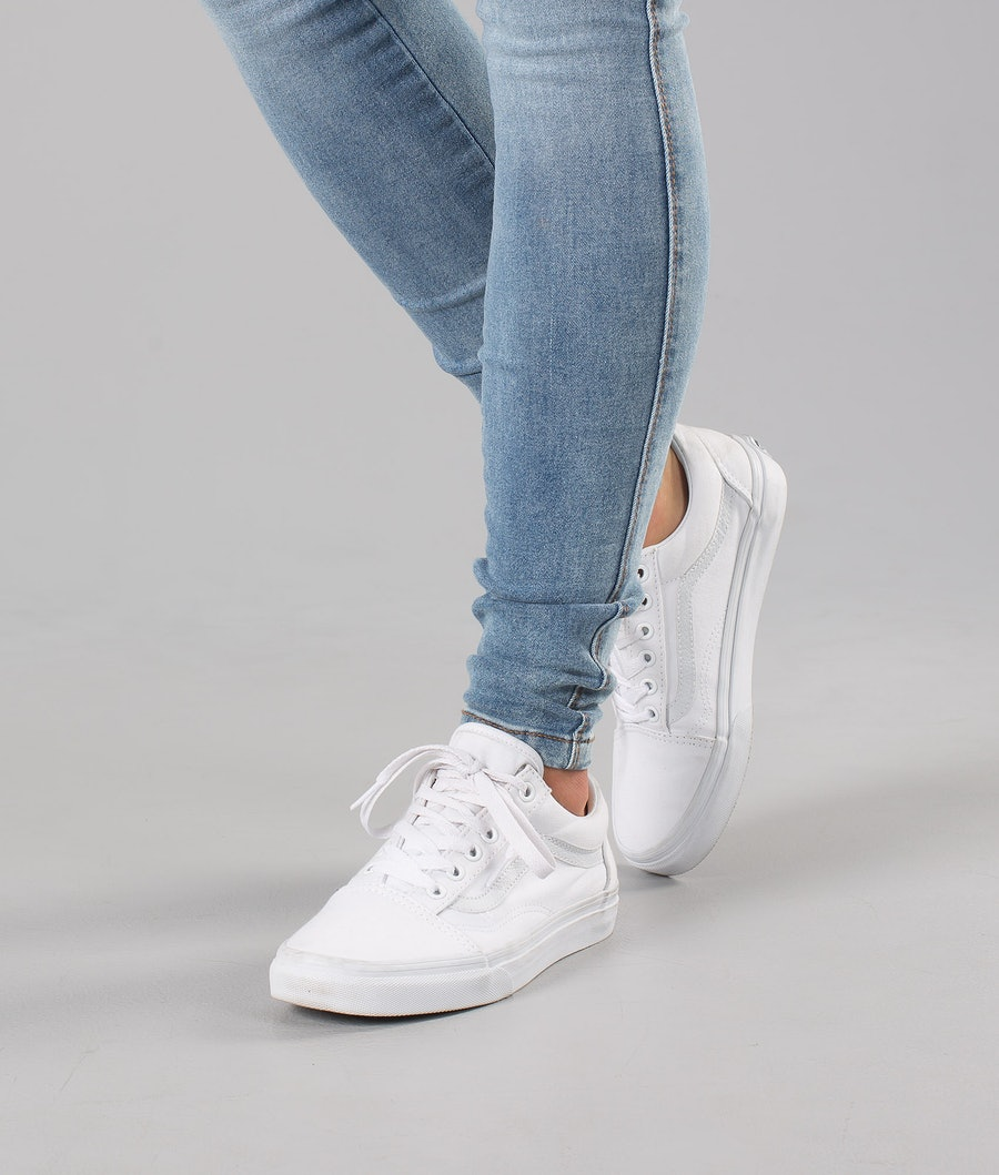 Vans Old Skool Unisex Scarpe True White
