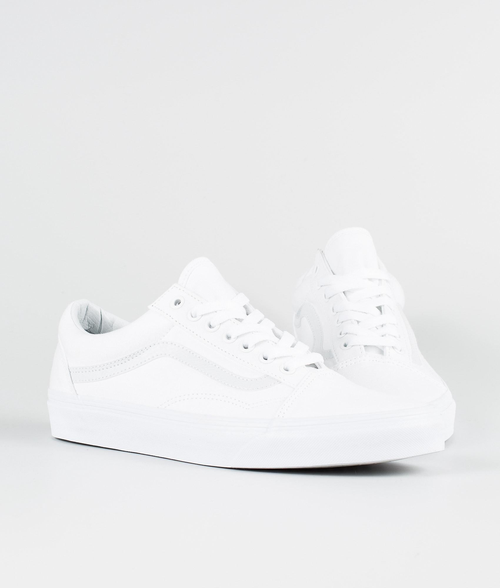 f36a94f0385c Vans Old Skool Shoes True White - Ridestore.com