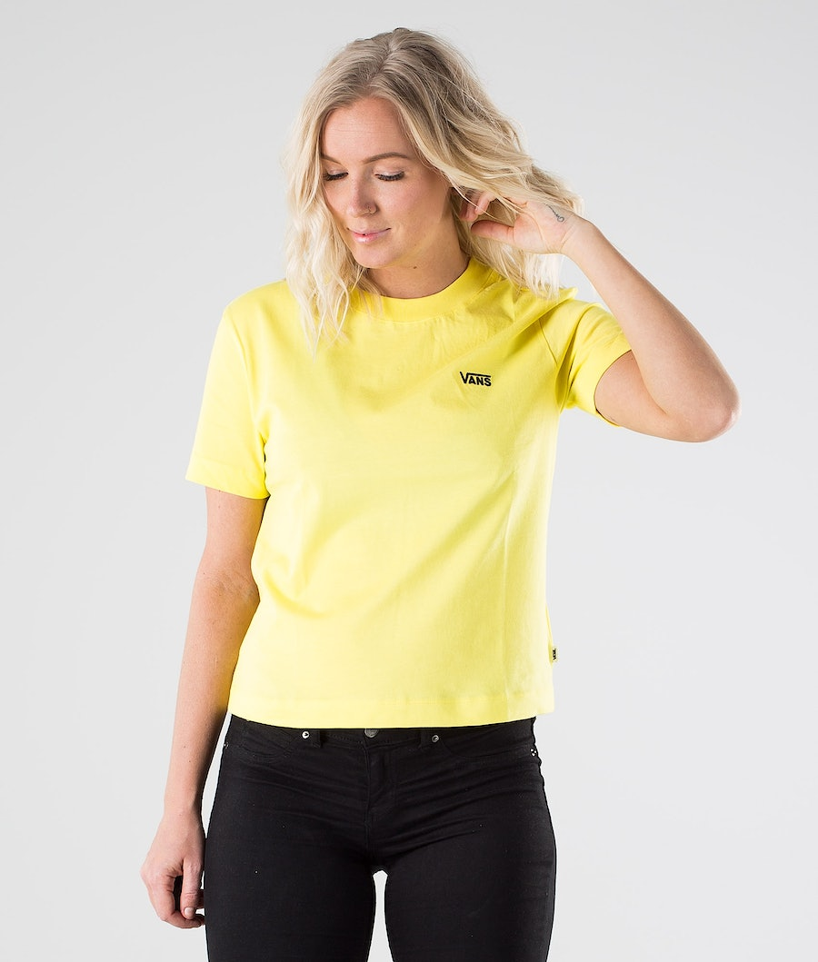 Vans Junior V Boxy T-Shirt Lemon Tonic