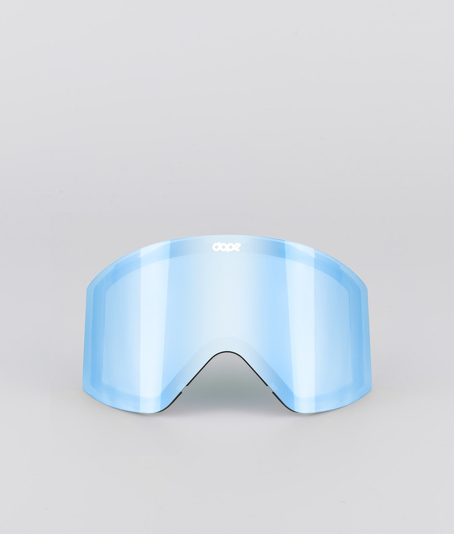 Dope Sight Medium Spare Lens Extralins Snow Blue Mirror