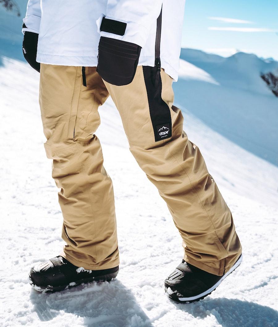 Dope Hoax II 18 Snowboardbyxa Khaki