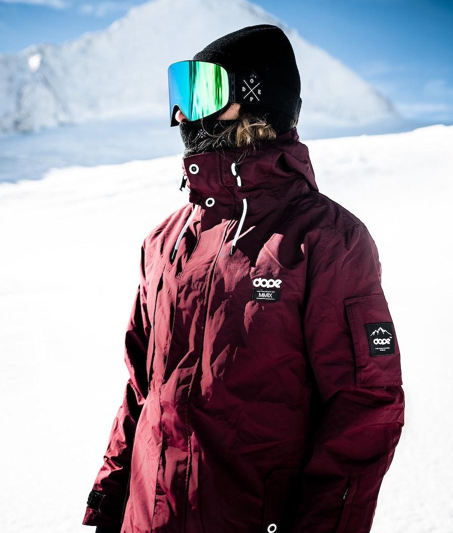 Dope Adept 18 Skijakke Burgundy
