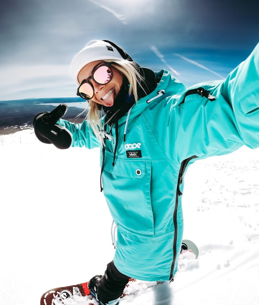 Dope Annok W 18 Snowboardjacka Dam Azure