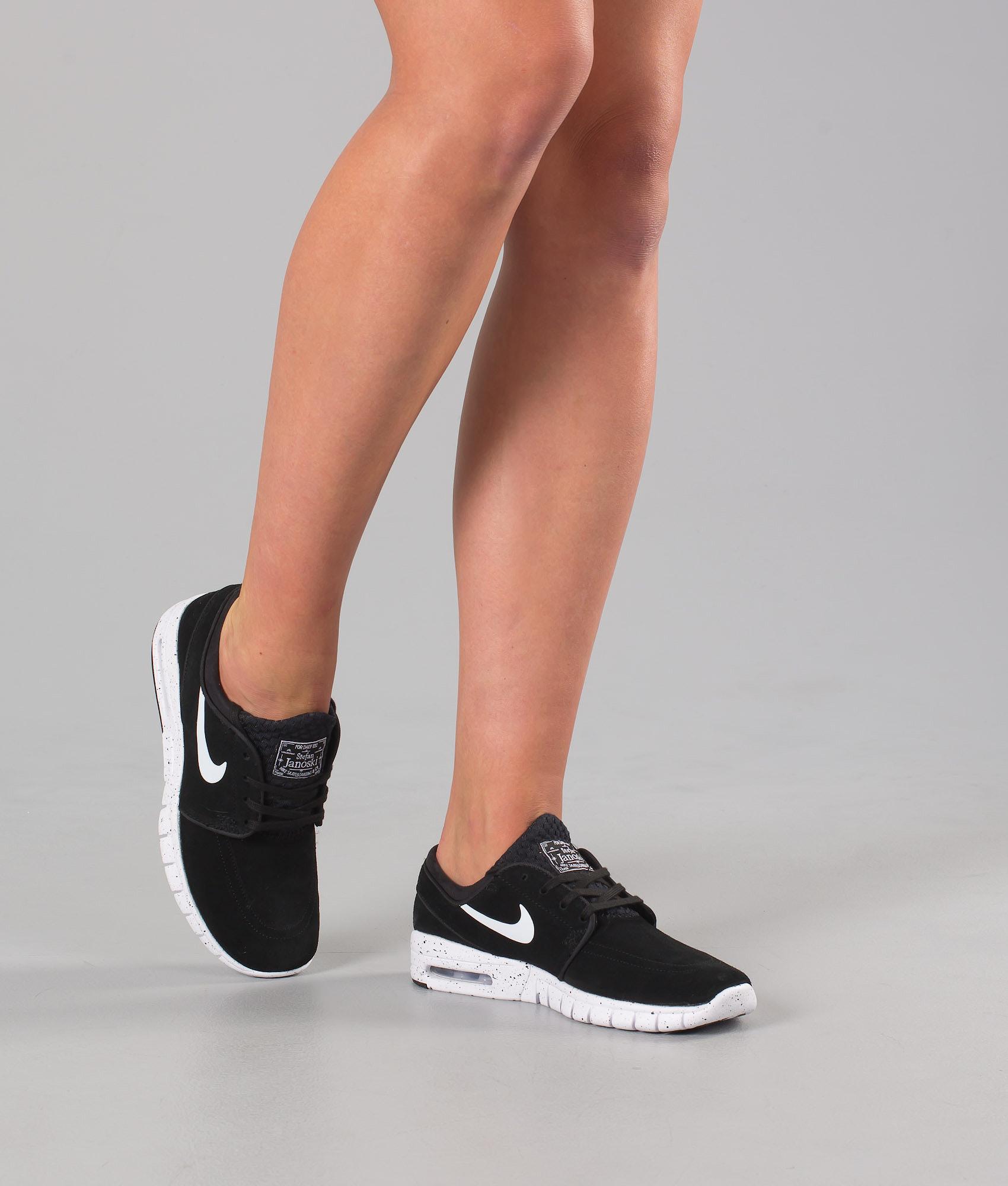 43b36378 Nike Stefan Janoski Max L Unisex Shoes Black/White - Ridestore.com