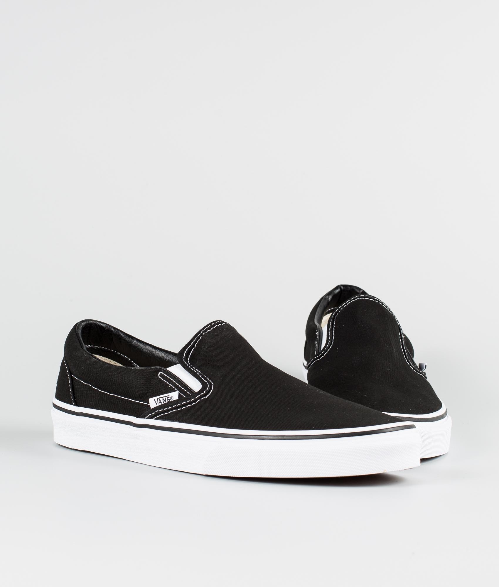 Vans Classic Slip-On Schuhe Black