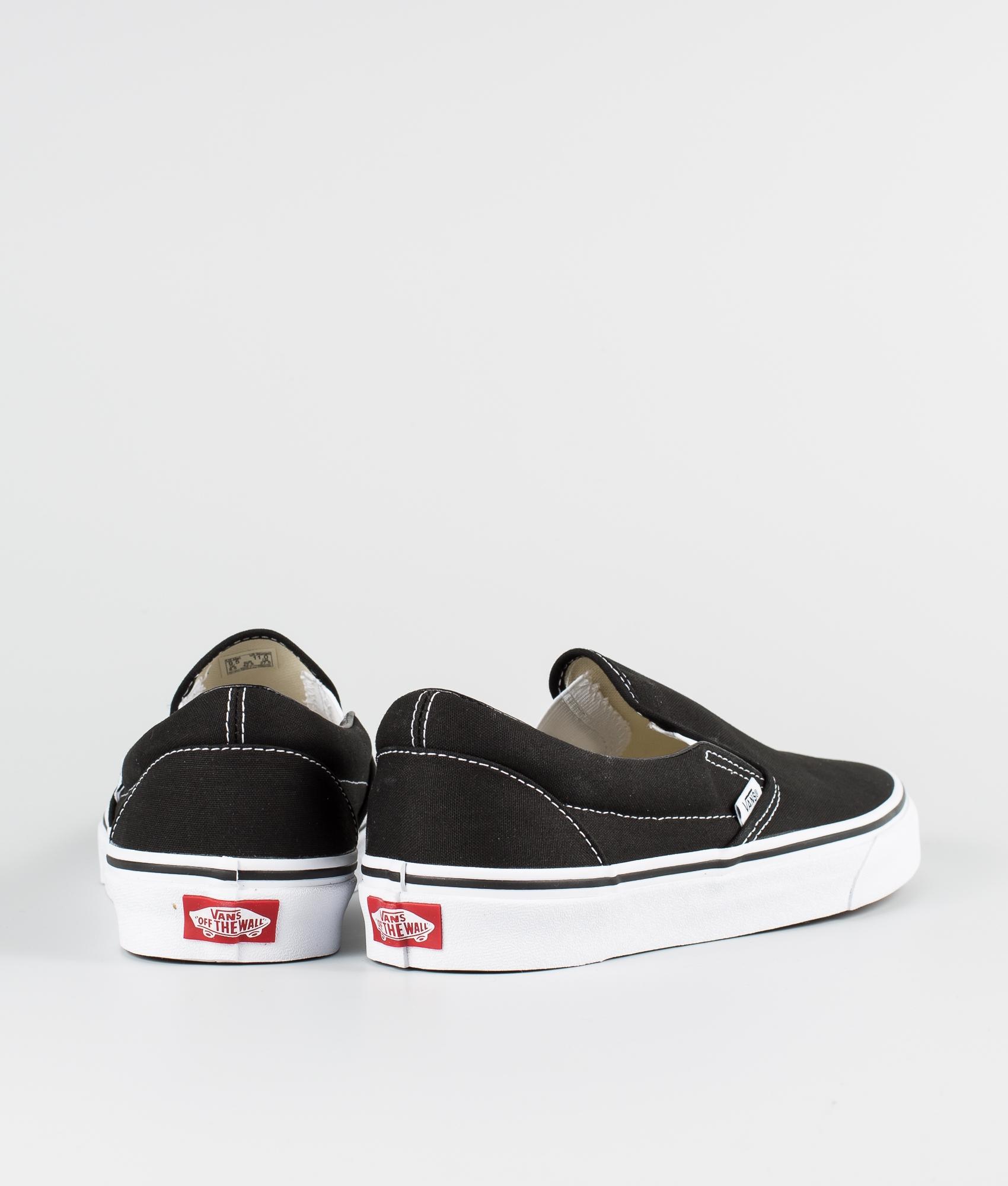 On Slip Vans Schuhe Classic Black xOawq7nwA