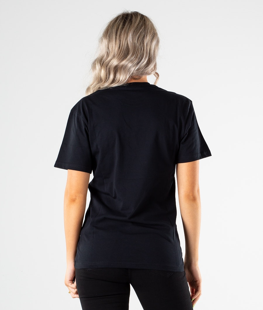 Vans Classic Unisex T-shirt Dame Black/White