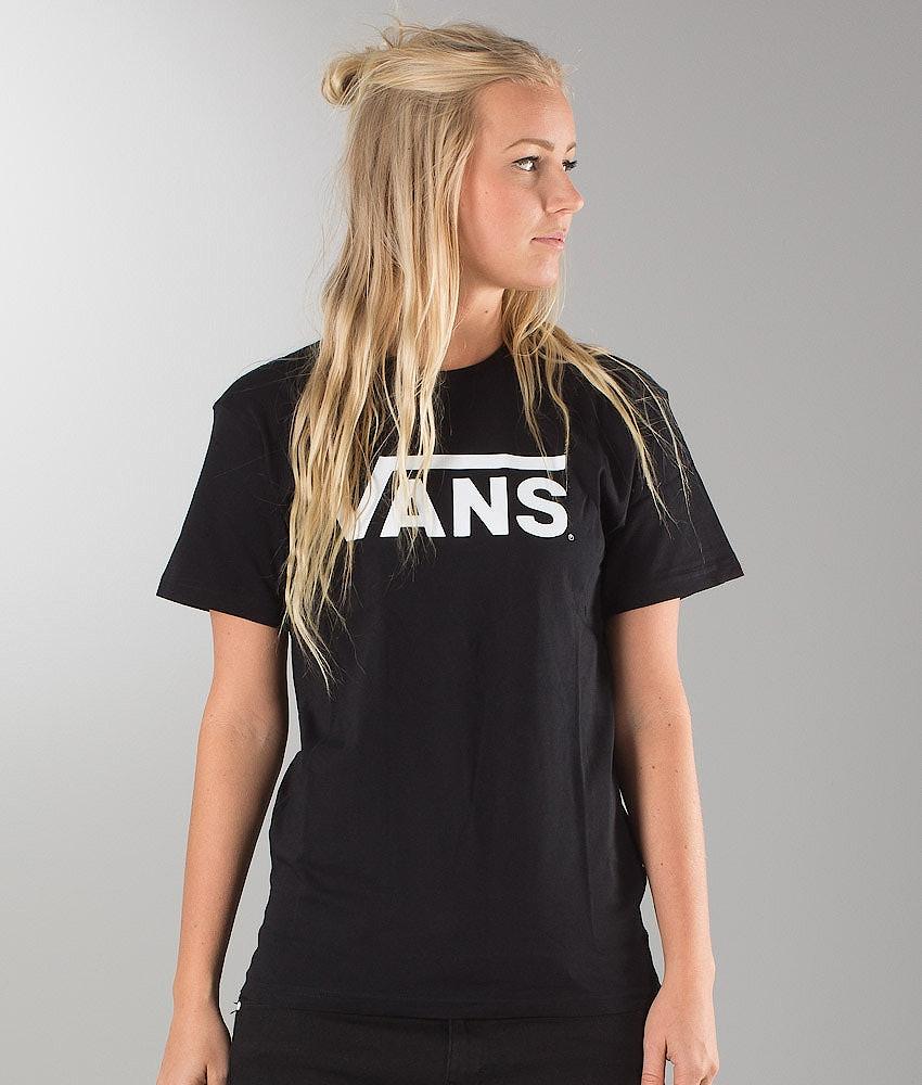 Vans Classic Unisex T-shirt Black/White