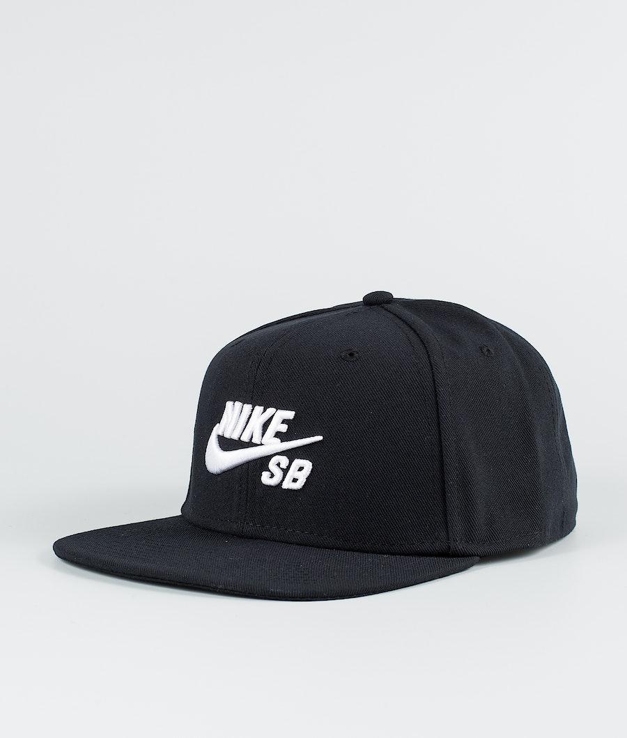 Nike Pro Cap Black/Black/Black/White