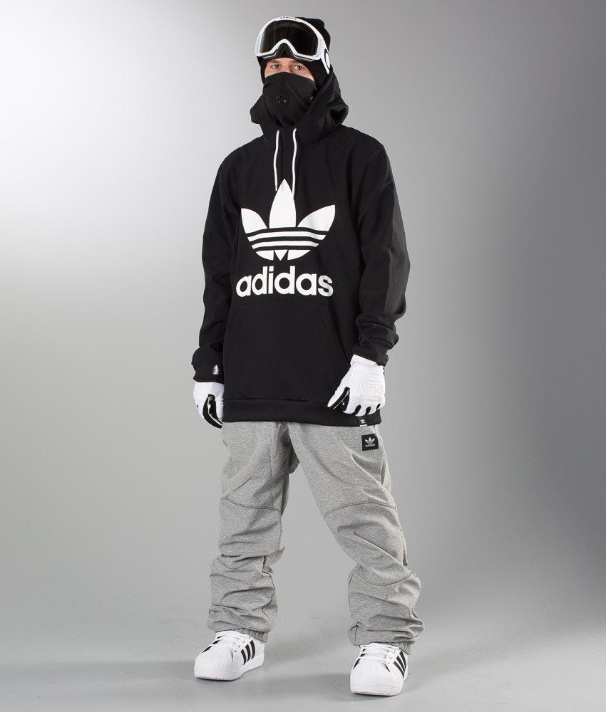 1e1514e6dc58 Adidas Originals Team Tech Hood Black - Ridestore.com