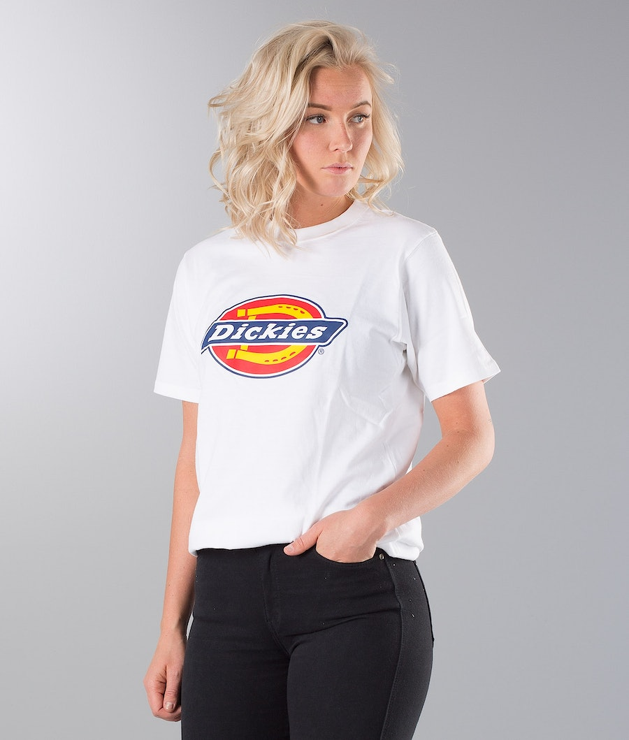 Dickies Horseshoe Unisex T-Shirt White