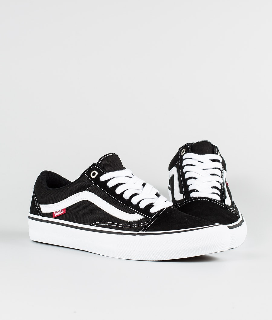Vans Old Skool Pro Sko Black/White