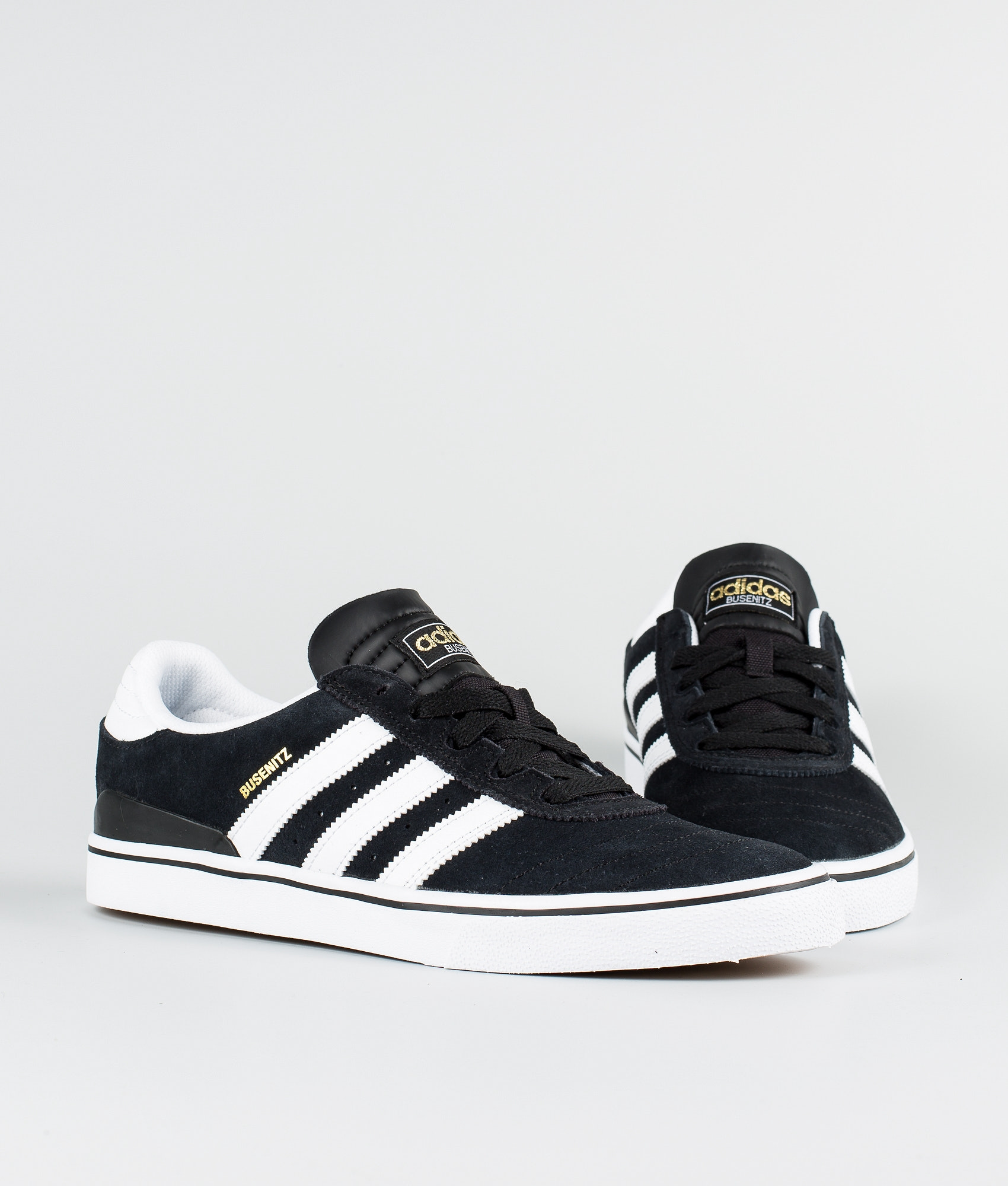 site réputé 26152 515dc Adidas Skateboarding Busenitz Vulc Shoes Black1/Running White/Black1