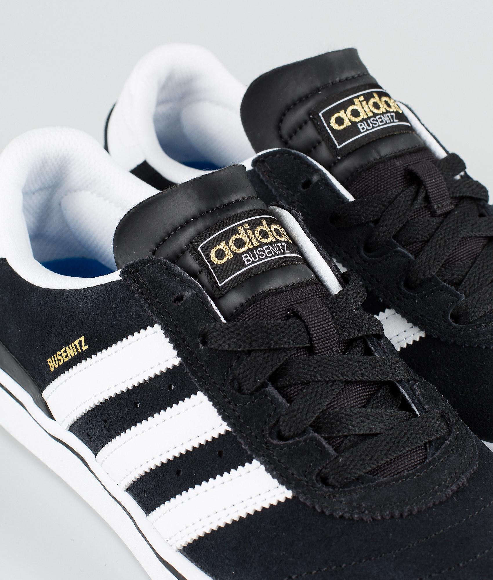 40c47385b55 Adidas Skateboarding Busenitz Vulc Shoes Black1/Running White/Black1 ...