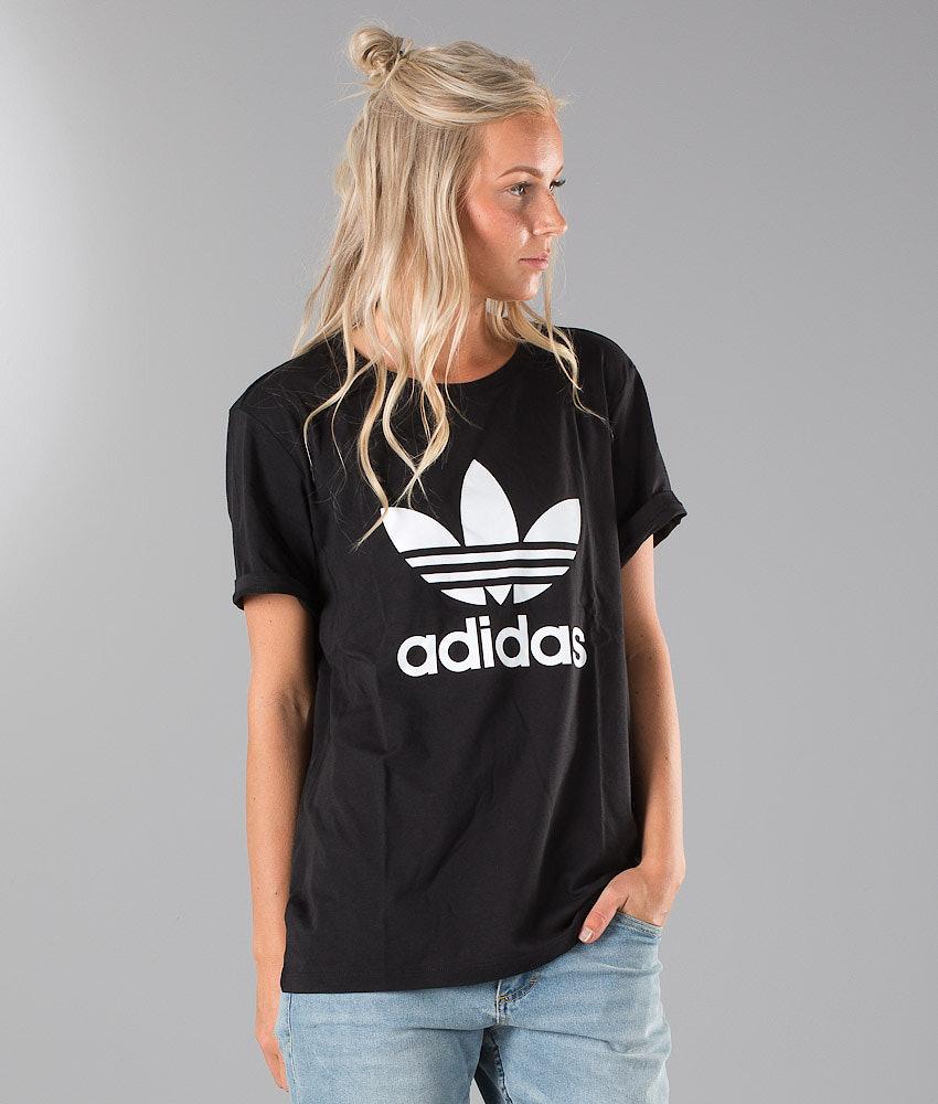 68b72ca9c39 Adidas Originals Bf Trefoil T-shirt Black - Ridestore.com