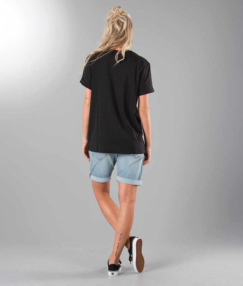 Adidas Originals Bf Trefoil T-shirt Dame Black
