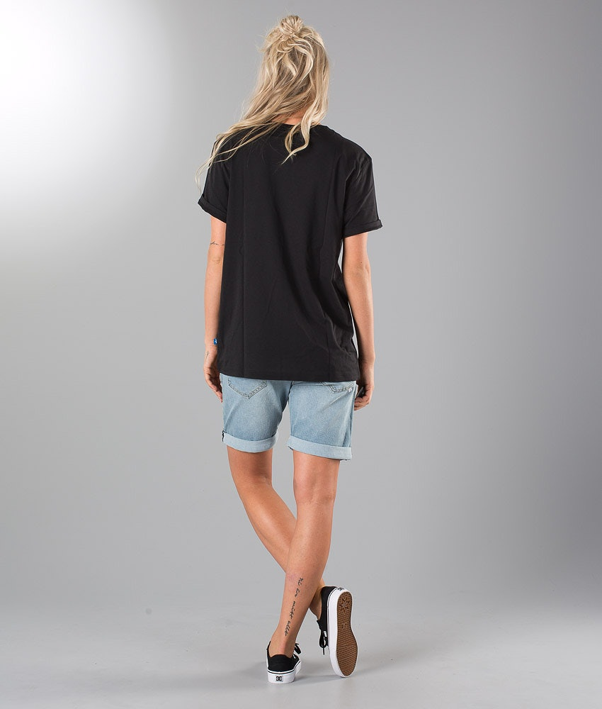 Adidas Originals Bf Trefoil T-Shirt Damen Black