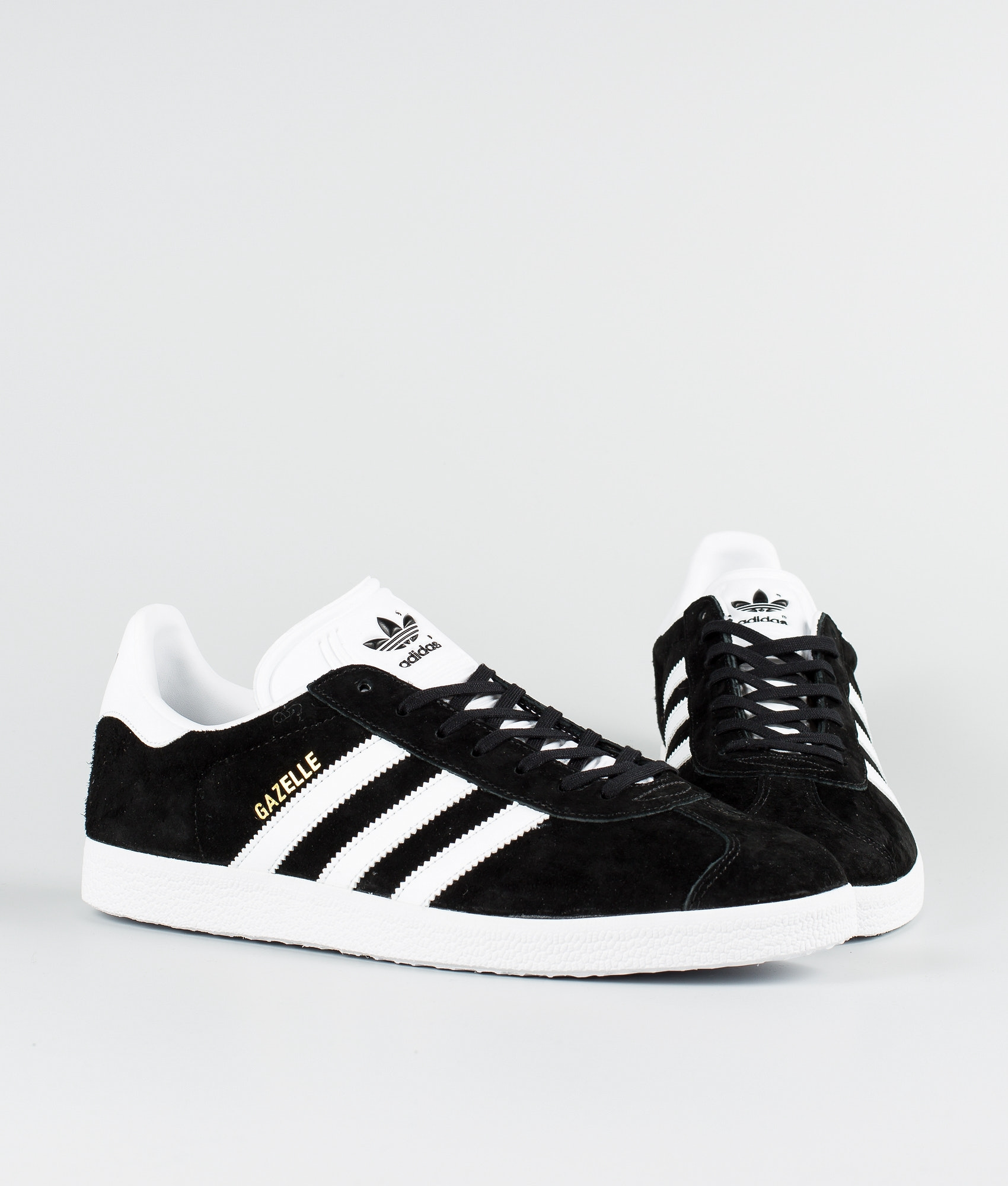 79b9489c6b3 Adidas Originals Gazelle Sko Core Black/White/Goldmt - Ridestore.no