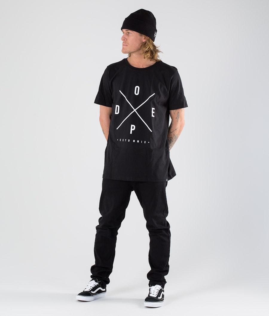 Dope 2X-UP T-shirt Black