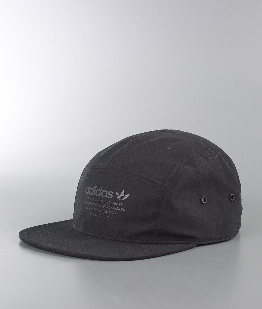 Adidas Originals Nmd 5 Panel Cap Black - Ridestore.com 47a148aae208