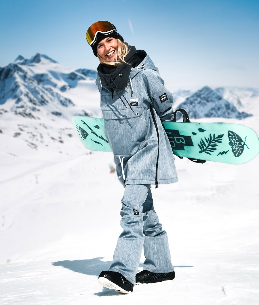 Dope Tigress 18 Snowboardbyxa Dam Blue Denim